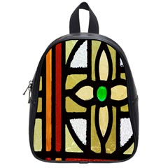 A Detail Of A Stained Glass Window School Bags (small)