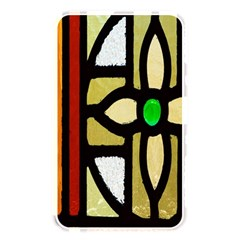 A Detail Of A Stained Glass Window Memory Card Reader