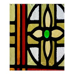 A Detail Of A Stained Glass Window Shower Curtain 60  X 72  (medium)