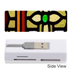 A Detail Of A Stained Glass Window Memory Card Reader (stick)