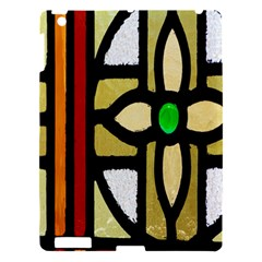 A Detail Of A Stained Glass Window Apple Ipad 3/4 Hardshell Case