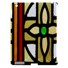 A Detail Of A Stained Glass Window Apple Ipad 3/4 Hardshell Case (compatible With Smart Cover)