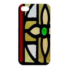 A Detail Of A Stained Glass Window Apple Iphone 4/4s Premium Hardshell Case
