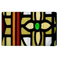 A Detail Of A Stained Glass Window Apple Ipad 3/4 Flip Case