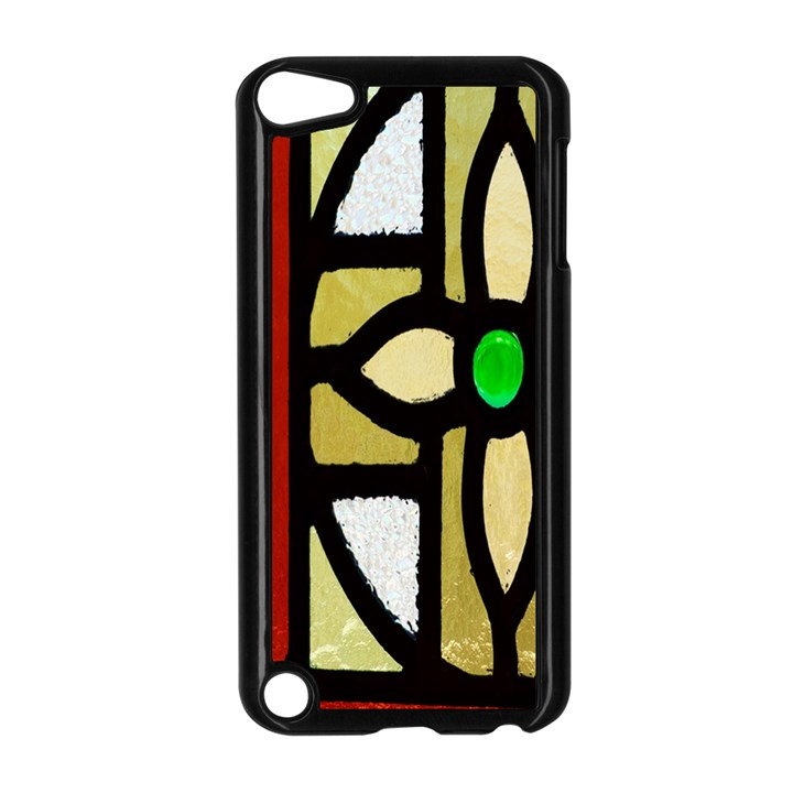 A Detail Of A Stained Glass Window Apple iPod Touch 5 Case (Black)