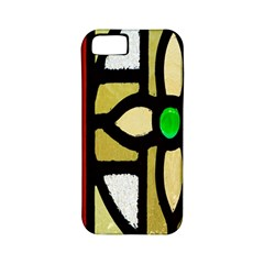 A Detail Of A Stained Glass Window Apple Iphone 5 Classic Hardshell Case (pc+silicone)