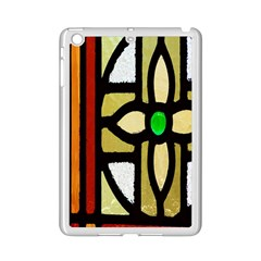 A Detail Of A Stained Glass Window Ipad Mini 2 Enamel Coated Cases