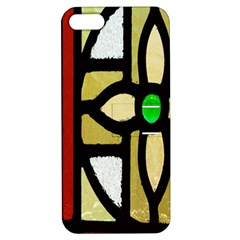 A Detail Of A Stained Glass Window Apple Iphone 5 Hardshell Case With Stand