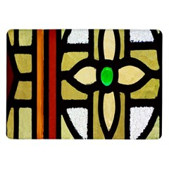 A Detail Of A Stained Glass Window Samsung Galaxy Tab 10 1  P7500 Flip Case