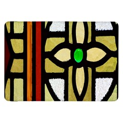 A Detail Of A Stained Glass Window Samsung Galaxy Tab 8 9  P7300 Flip Case
