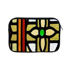 A Detail Of A Stained Glass Window Apple Ipad Mini Zipper Cases