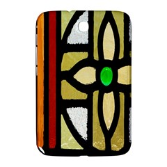 A Detail Of A Stained Glass Window Samsung Galaxy Note 8 0 N5100 Hardshell Case