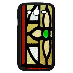 A Detail Of A Stained Glass Window Samsung Galaxy Grand Duos I9082 Case (black)