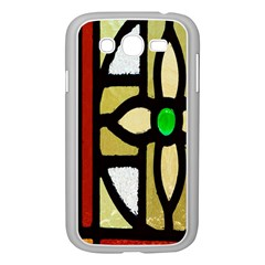 A Detail Of A Stained Glass Window Samsung Galaxy Grand Duos I9082 Case (white)