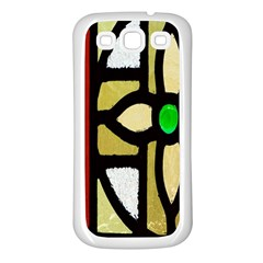 A Detail Of A Stained Glass Window Samsung Galaxy S3 Back Case (white)
