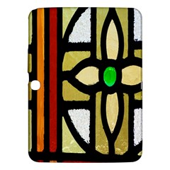A Detail Of A Stained Glass Window Samsung Galaxy Tab 3 (10 1 ) P5200 Hardshell Case