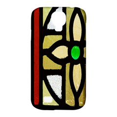 A Detail Of A Stained Glass Window Samsung Galaxy S4 Classic Hardshell Case (PC+Silicone)