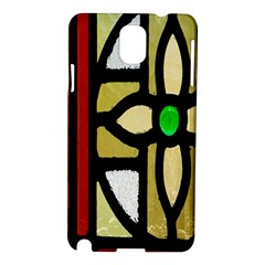 A Detail Of A Stained Glass Window Samsung Galaxy Note 3 N9005 Hardshell Case