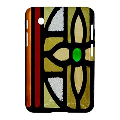 A Detail Of A Stained Glass Window Samsung Galaxy Tab 2 (7 ) P3100 Hardshell Case