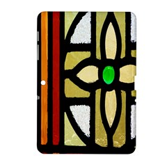 A Detail Of A Stained Glass Window Samsung Galaxy Tab 2 (10 1 ) P5100 Hardshell Case