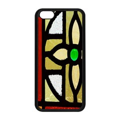 A Detail Of A Stained Glass Window Apple Iphone 5c Seamless Case (black)