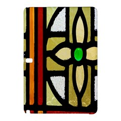 A Detail Of A Stained Glass Window Samsung Galaxy Tab Pro 12 2 Hardshell Case
