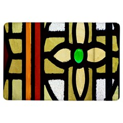 A Detail Of A Stained Glass Window Ipad Air Flip