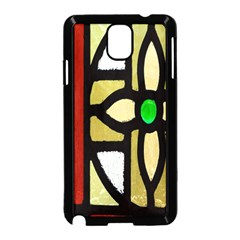 A Detail Of A Stained Glass Window Samsung Galaxy Note 3 Neo Hardshell Case (black)