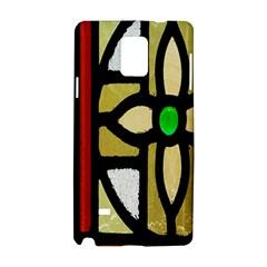 A Detail Of A Stained Glass Window Samsung Galaxy Note 4 Hardshell Case