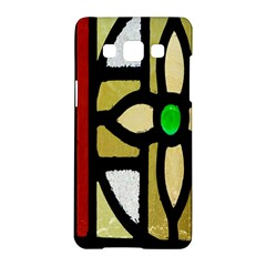 A Detail Of A Stained Glass Window Samsung Galaxy A5 Hardshell Case