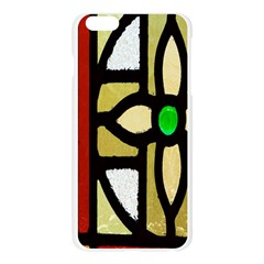 A Detail Of A Stained Glass Window Apple Seamless iPhone 6 Plus/6S Plus Case (Transparent)