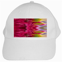 Abstract Pink Colorful Water Background White Cap