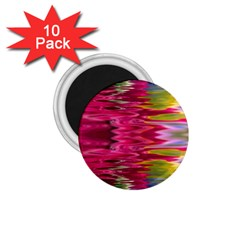 Abstract Pink Colorful Water Background 1.75  Magnets (10 pack)