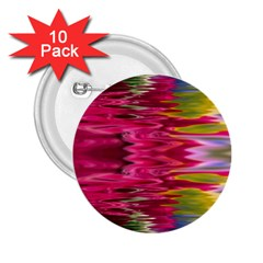 Abstract Pink Colorful Water Background 2 25  Buttons (10 Pack)