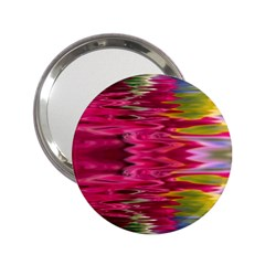 Abstract Pink Colorful Water Background 2 25  Handbag Mirrors