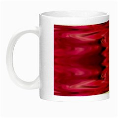 Abstract Pink Colorful Water Background Night Luminous Mugs