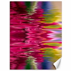 Abstract Pink Colorful Water Background Canvas 36  X 48
