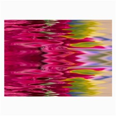 Abstract Pink Colorful Water Background Large Glasses Cloth (2 Side)