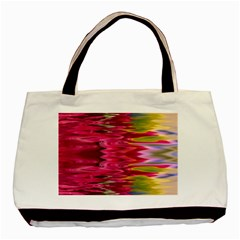 Abstract Pink Colorful Water Background Basic Tote Bag (two Sides)