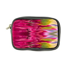 Abstract Pink Colorful Water Background Coin Purse