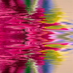 Abstract Pink Colorful Water Background Magic Photo Cubes