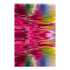 Abstract Pink Colorful Water Background Shower Curtain 48  X 72  (small)