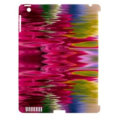 Abstract Pink Colorful Water Background Apple Ipad 3/4 Hardshell Case (compatible With Smart Cover)