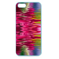 Abstract Pink Colorful Water Background Apple Seamless Iphone 5 Case (color)