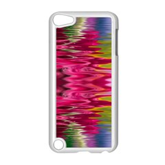 Abstract Pink Colorful Water Background Apple Ipod Touch 5 Case (white)