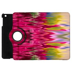 Abstract Pink Colorful Water Background Apple Ipad Mini Flip 360 Case