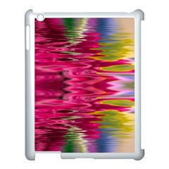 Abstract Pink Colorful Water Background Apple iPad 3/4 Case (White)