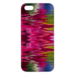 Abstract Pink Colorful Water Background Apple iPhone 5 Premium Hardshell Case