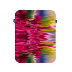 Abstract Pink Colorful Water Background Apple iPad 2/3/4 Protective Soft Cases