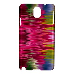 Abstract Pink Colorful Water Background Samsung Galaxy Note 3 N9005 Hardshell Case